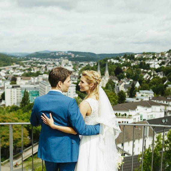Brautmake-up und Styling