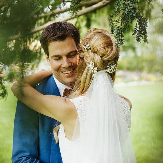 Visagistin Frisur für Hochzeiten