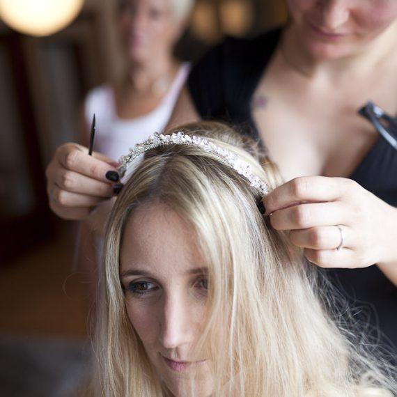 Hairstyling für die Hochzeit